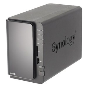 A Synology DS213 NAS